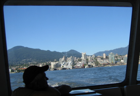 North Vancouver from the SeaBus